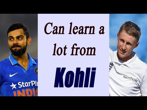 Virat Kohli is an inspiration, can learn lot from him : Joe Root | Oneindia News