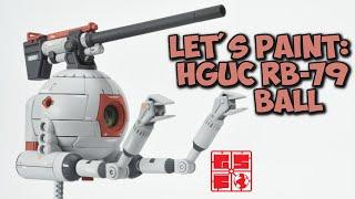 Let's Paint: Bandai HG RB-79 Ball Twin Set