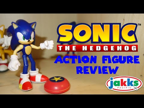 Sonic The Hedgehog Articulated Action Figure Review Jakks Pacific Youtube