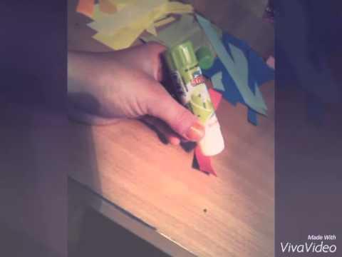 Как сделать цепочку из бумаги?