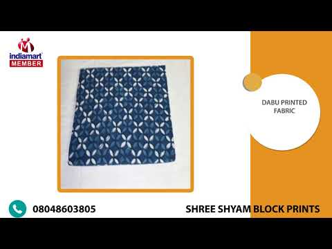 Manufacturer & Wholesaler of Printed Cotton Fabric