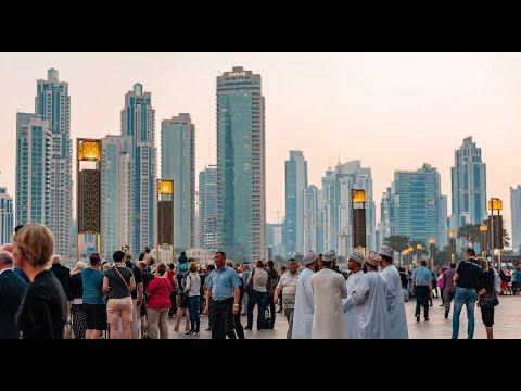 BERKELANA DI DUBAI : BURJ KHALIFA - DUBAI FOUNTAIN #2DAY