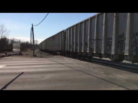 CSX Garbage Train in Marion Headed to Columbus