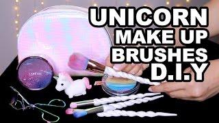 DIY: Unicorn Make Up Brushes