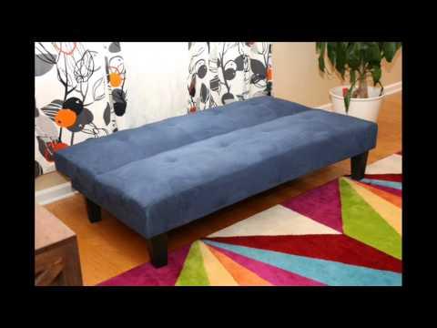 Microfiber With Adjule Klik Klak Sofa Futon Bed Sleeper Convertible