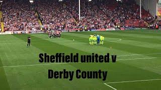 Sheffield United v Derby County vlog