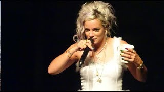 Come On Then / Lily Allen / No Shame Tour 2018 / New York Live / Opening Song [1080p]