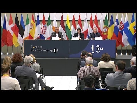 Informal ministerial meeting on Maritime Affairs (Athens, 7.5.2014)  - press conference