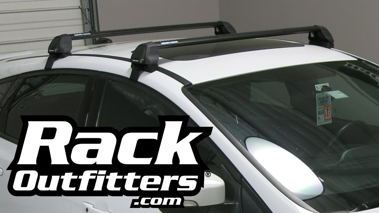 Ford Focus ST Hatchback Rhino Rack 2500 RS Aero Black Base ...
