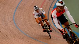 men s sprint gold final track cycling world cup cali colombia