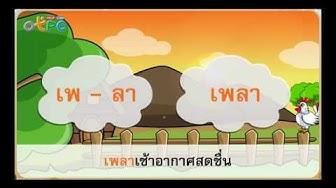 คำพ้องรูป - สื่อการเรียนการสอน ภาษาไทย ป.3