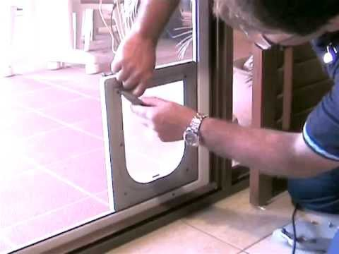 Petway Pet Doors Diy Fitting Instructions Insect Screen Door