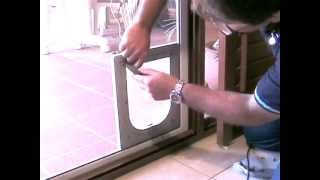 Petway Pet Doors - Diy Fitting Instructions - Insect Screen Door