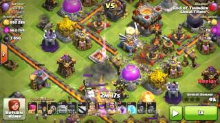 Clash of clans-TH11 3 star attacks-Common bases