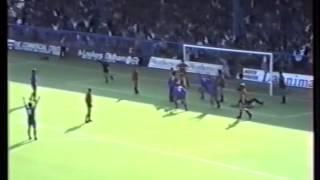 Oldham Athletic 1-1 Bradford City at Boundary Park 1988/89