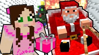 Minecraft: SANTA'S SLEIGH CRASHED!! - The Crash Before Christmas - Custom Map