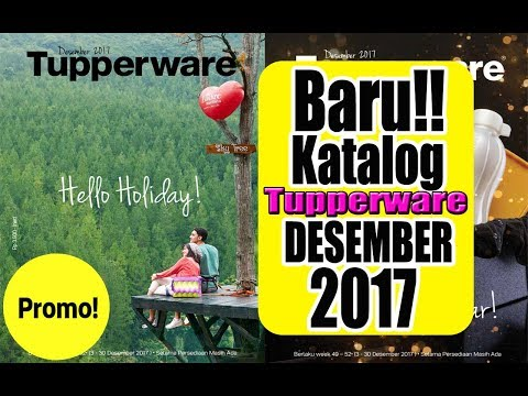 Baru..!! Katalog Tupperware Desember 2017 from YouTube · Duration:  4 minutes 29 seconds