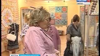 Выставка Галины Балахничевой по технике лоскутного шитья в ОДНТ(ГТРК Вятка)