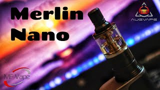 Merlin Nano MTL RTA | Augvape | Review, Build & Wick | Very Impressed!