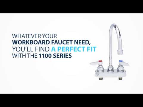 1100 Series Faucets: Redesigned For Today