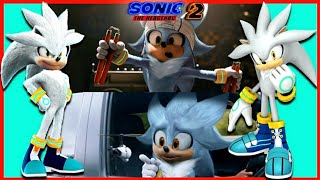 SILVER in Tails x Sonic the Hedgehog Movie 2 2022 Trailer