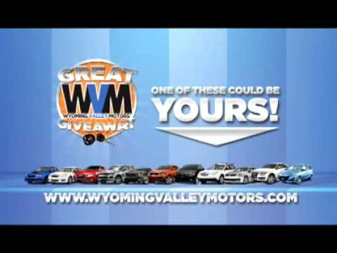 Wyoming valley motors car giveaway youtube for Wyoming valley motors used cars