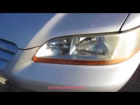 How To Clean Your Dirty/Yellow Headlights $5 in 5 minutes!