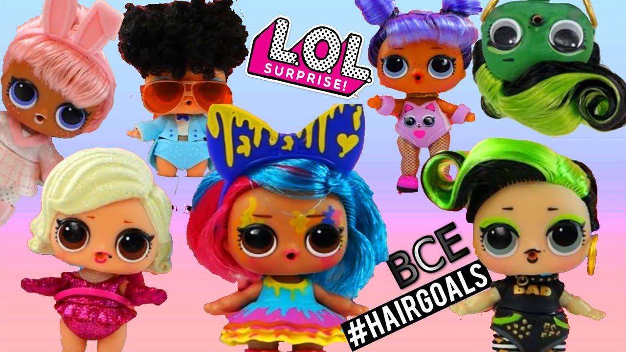 ВСЕ КУКЛЫ #Hairgoals LOL Surprise НОВИНКА КУКЛЫ ЛОЛ С ...