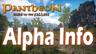 Visionary Realms Clarifies Pantheon: Rise of the Fallen Alpha Plans