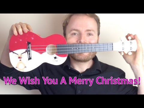 We Wish You A Merry Christmas - EASY UKULELE TUTORIAL
