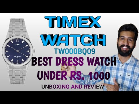 Timex Analog Watch  - Unboxing & Review |  TW000BQ09 (Hindi)
