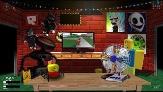 Roblox escritório em UCN! + Noob Mask (UCN mods)