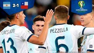 Argentina, tercer lugar de la Copa América | Argentina 2 - 1 Chile | Copa América - tercer lugar