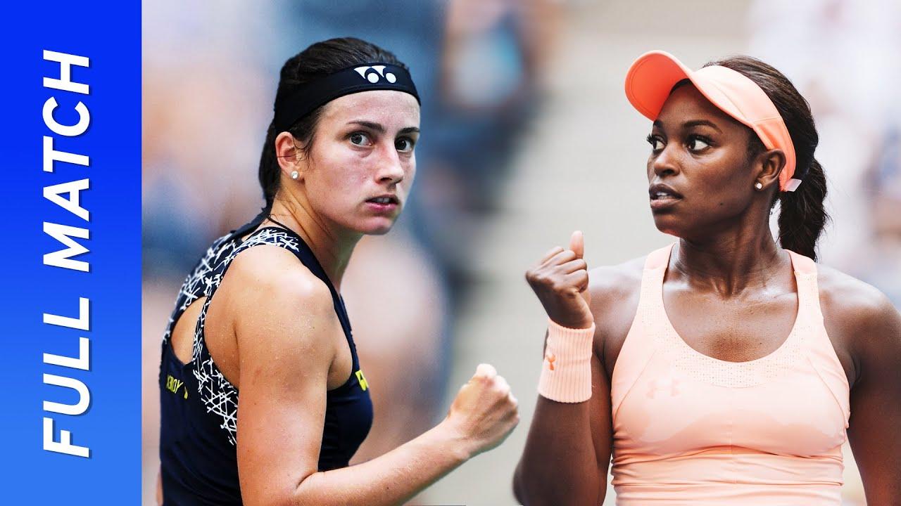Sloane Stephens vs Anastasija Sevastova in a three-set thriller! | US Open 2017 Quarterfinal