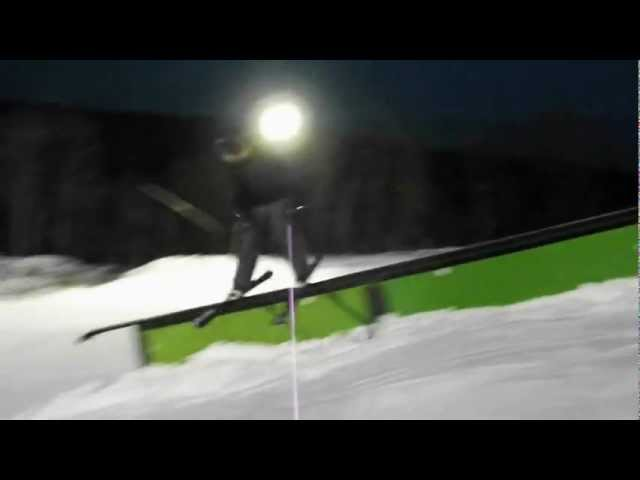 Wild Mountain Terrain Park Jan. 2013
