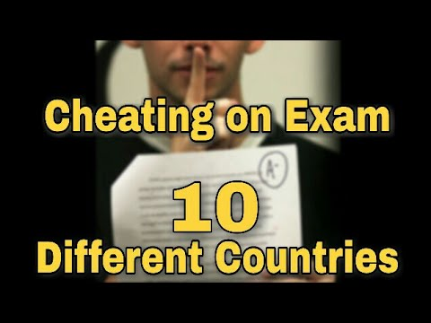 Exam Cheating    High Tech tricks    10 Different Countries