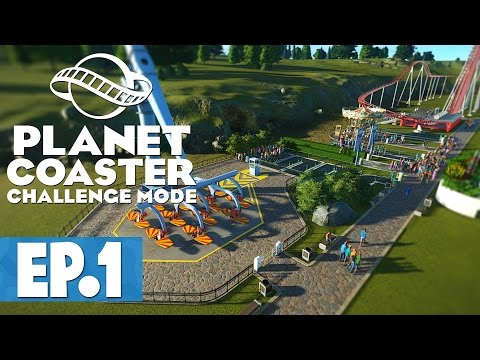 Let's Play: Planet Coaster Hard Mode - Part 1