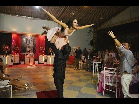 Hosana 15 Anos - Dirty Dancing   Coreografia Gibson Moraes
