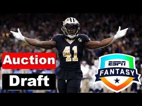 2019 Live Fantasy Football Auction Mock Draft
