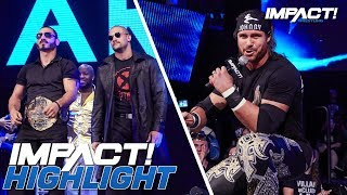 Johnny IMPACT Interrupts Austin Aries and Moose! | IMPACT! Highlights Sep 6, 2018