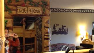 Great Wolf Lodge Resort Wolf Den Suite Room Tour