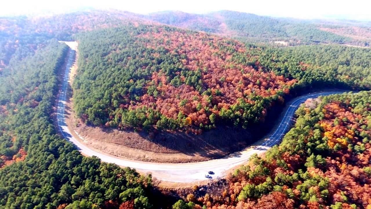 Talimena Scenic Drive - The Arc - YouTube