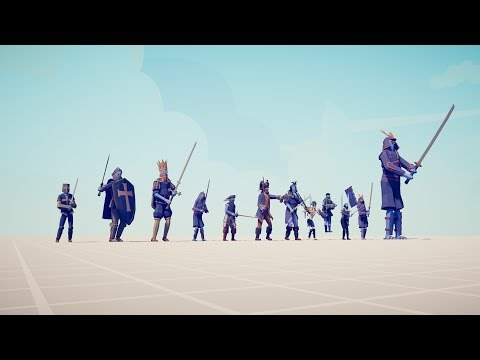 ALL SWORD UNIT Vs EVERY UNIT - Totally Accurate Battle Simulator TABS