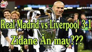 Zidane HLV thiên tài hay kẻ ăn may   Zidane 3 lần vô địch C1   Ẩm thực & Cuộc sống