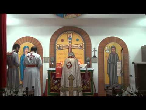 Chaldean Church Syriac Holy Qurbana celebrated by Mar Aprem at Seeri, Kottayam