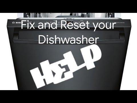 Tidssvarende How to FIX and RESET your BOSCH Dishwasher - YouTube NF-23