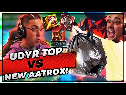 TOP SMITEDYR VS NEW AATROX | HE'S THE WEAKEST CHAMPION IN THE GAME!!! - Trick2G