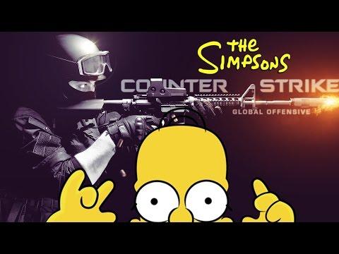 Counter Strike SIMPSONS