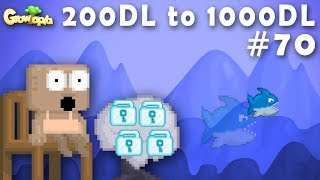 MAKING TONS SHARK TREE | 200DL to 1000DL #70 | Growtopia