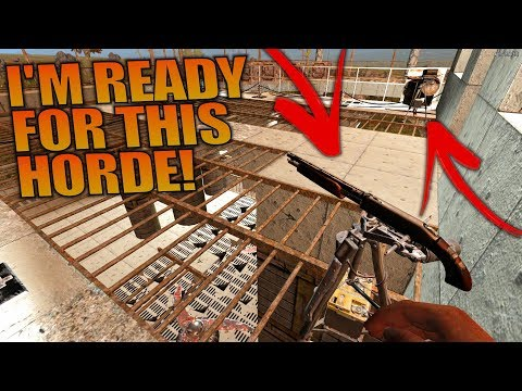 I'M READY FOR THIS HORDE! | 7 Days to Die | Let's Play Gameplay Alpha 16 | S16.4E69
